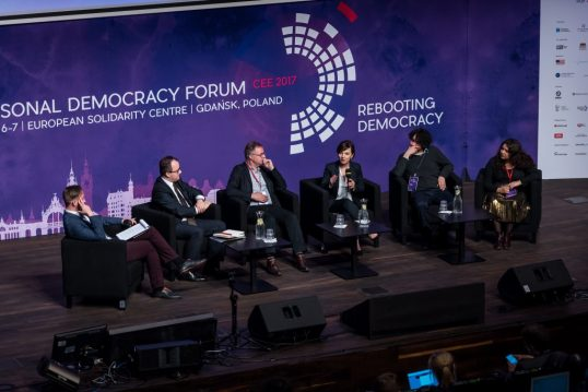 Personal Democracy Forum CEE 2017